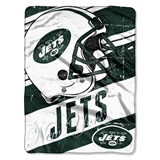 "New York Jets ""Deep Slant"" Micro Raschel Throw"