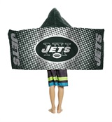"New York Jets ""Dots"" Youth Hooded Towel"