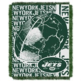 "New York Jets ""Double Play"" Woven Jacquard Throw"