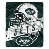 "New York Jets ""Grand Stand"" Raschel Throw"