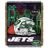 "New York Jets ""Home Field Advantage"" Woven Tapestry Throw"