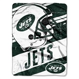 "New York Jets NFL ""Deep Slant Micro Raschel Throw"