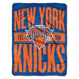 "New York Knicks NBA ""Clear Out"" Micro Raschel Throw"