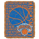 "New York Knicks NBA ""Double Play"" Woven Jacquard Throw"