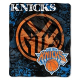 "New York Knicks NBA ""Dropdown"" Raschel Throw"