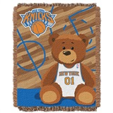 "New York Knicks NBA ""Half-Court"" Baby Woven Jacquard Throw"