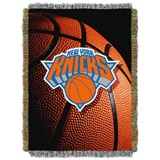"New York Knicks NBA ""Photo Real"" Woven Tapestry Throw"