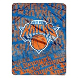 "New York Knicks NBA ""Redux"" Micro Raschel Throw"