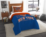 "New York Knicks NBA ""Reverse Slam"" Twin Comforter"