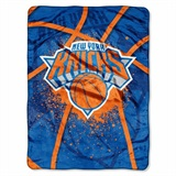 "New York Knicks NBA ""Shadow Play"" Raschel Throw"