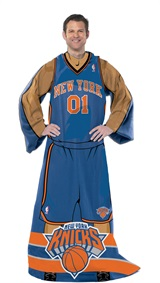 "New York Knicks NBA ""Uniform"" Adult Comfy Throw"