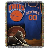 "New York Knicks NBA ""Vintage"" Woven Tapestry Throw"