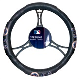 New York Mets MLB Car Steering Wheel Cover