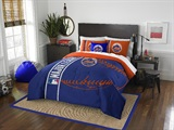 New York Mets MLB Full Comforter and Sham Set
