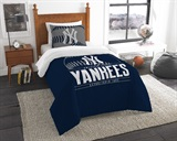 "New York Yankees MLB ""Grand Slam"" Twin Comforter Set"