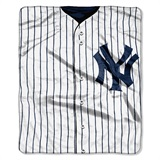 "New York Yankees MLB ""Jersey"" Raschel Throw"