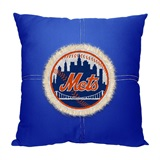 "New York Mets MLB ""Letterman"" Pillow"