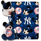 "New York Yankees MLB ""Mickey"" Hugger with Throw"