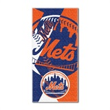 "New York Mets MLB ""Puzzle"" Beach Towel"