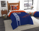 "New York Mets MLB ""Soft & Cozy"" Twin Comforter Set"