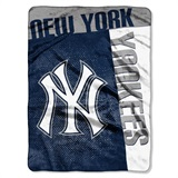 "New York Yankees MLB ""Strike"" Raschel Throw"