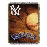 "New York Yankees MLB ""Vintage"" Woven Tapestry Throw"