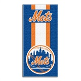 "New York Mets MLB ""Zone Read"" Beach Towel"