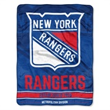 "New York Rangers NHL ""Breakaway"" Micro Throw"