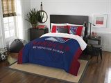 "New York Rangers NHL ""Draft"" Full/Queen Comforter Set"