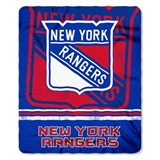 "New York Rangers NHL ""Fadeaway"" Fleece Throw"
