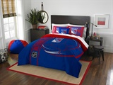 New York Rangers NHL Full Comforter and Sham Set