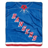 "New York Rangers NHL ""Jersey"" Raschel Throw"