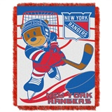 "New York Rangers NHL ""Score Baby"" Baby Woven Jacquard Throw"