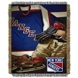 "New York Rangers NHL ""Vintage"" Woven Tapestry Throw"