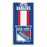 "New York Rangers NHL ""Zone Read"" Beach Towel"