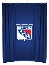 New York Rangers  Shower Curtain