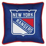 New York Rangers Sidelines Decorative Pillow