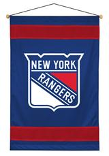 New York Rangers Sidelines Wallhanging