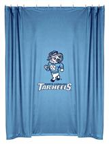 North Carolina Tar Heels  Shower Curtain