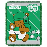 "North Dakota ""Fullback"" Baby Woven Jacquard Throw"