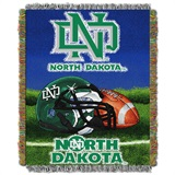 "North Dakota ""Home Field Advantage"" Woven Tapestry Throw"