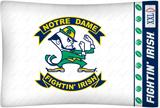 Notre Dame Fighting Irish Micro Fiber Pillow Case