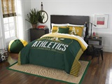"Oakland Athletics MLB ""Grand Slam"" FullQueen Comforter Set"