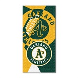 "Oakland Athletics MLB ""Puzzle"" Beach Towel"