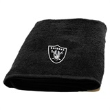 Oakland Raiders Appliqué Bath Towel