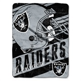 "Oakland Raiders ""Deep Slant"" Micro Raschel Throw"