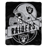 "Oakland Raiders ""Grand Stand"" Raschel Throw"