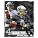 Oakland Raiders Players HD Silk Touch Throw