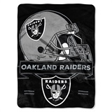 "Oakland Raiders ""Prestige"" Raschel Throw"