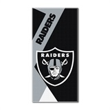"Oakland Raiders ""Puzzle"" Oversized Beach Towel"